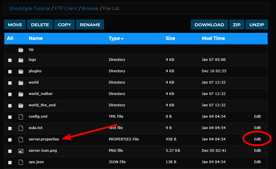 Configure or Disable Spawn Protection for Your Server