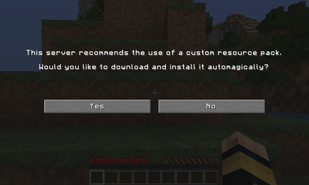 How To Set A Resource Pack To Your Minecraft Server Knowledgebase Shockbyte