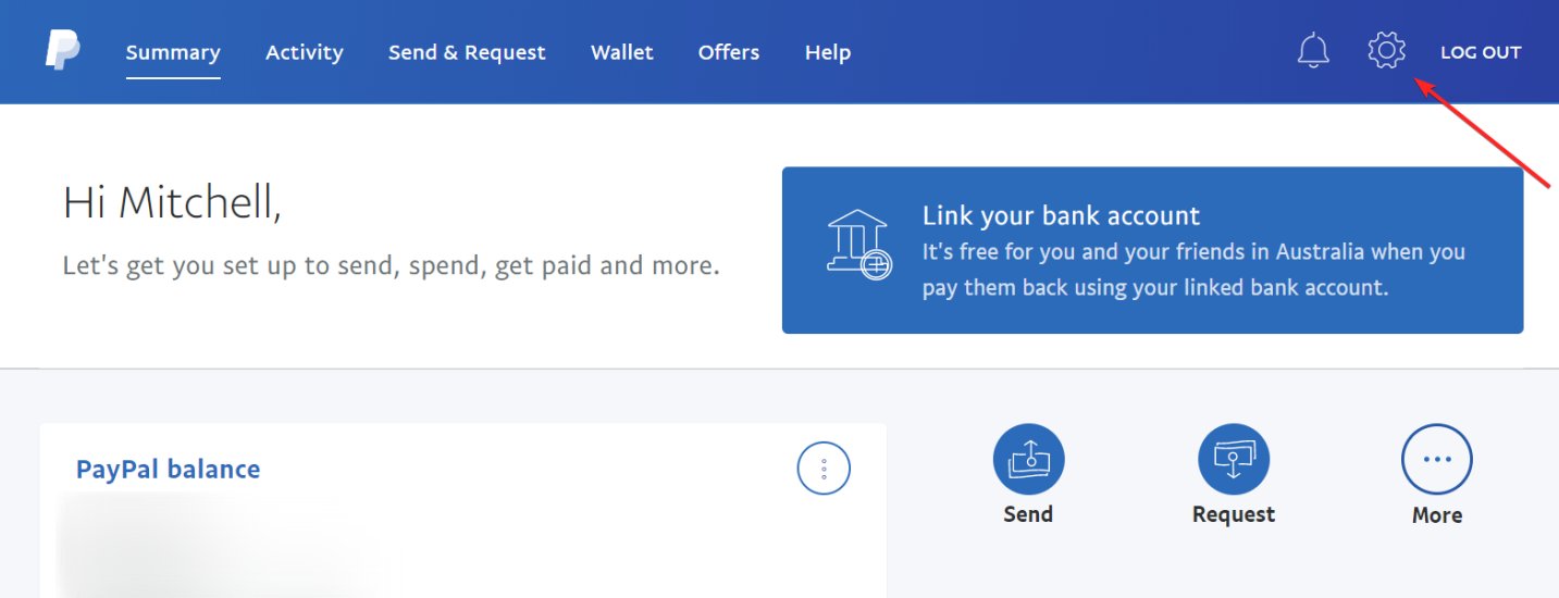 PayPal Account Settings