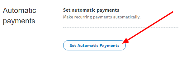 PayPal Set Automatic Payments
